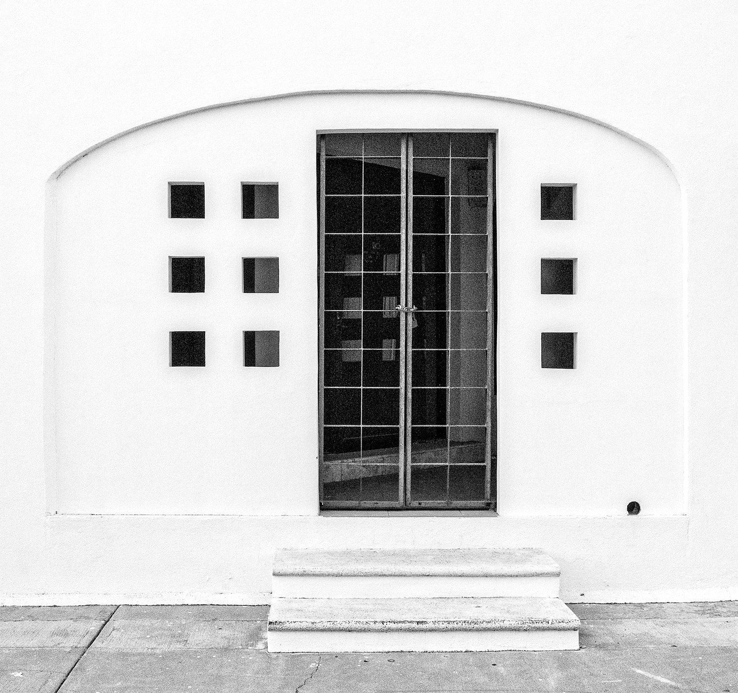 doors, Baja, architecture, welcome, entry way, back door, black and white