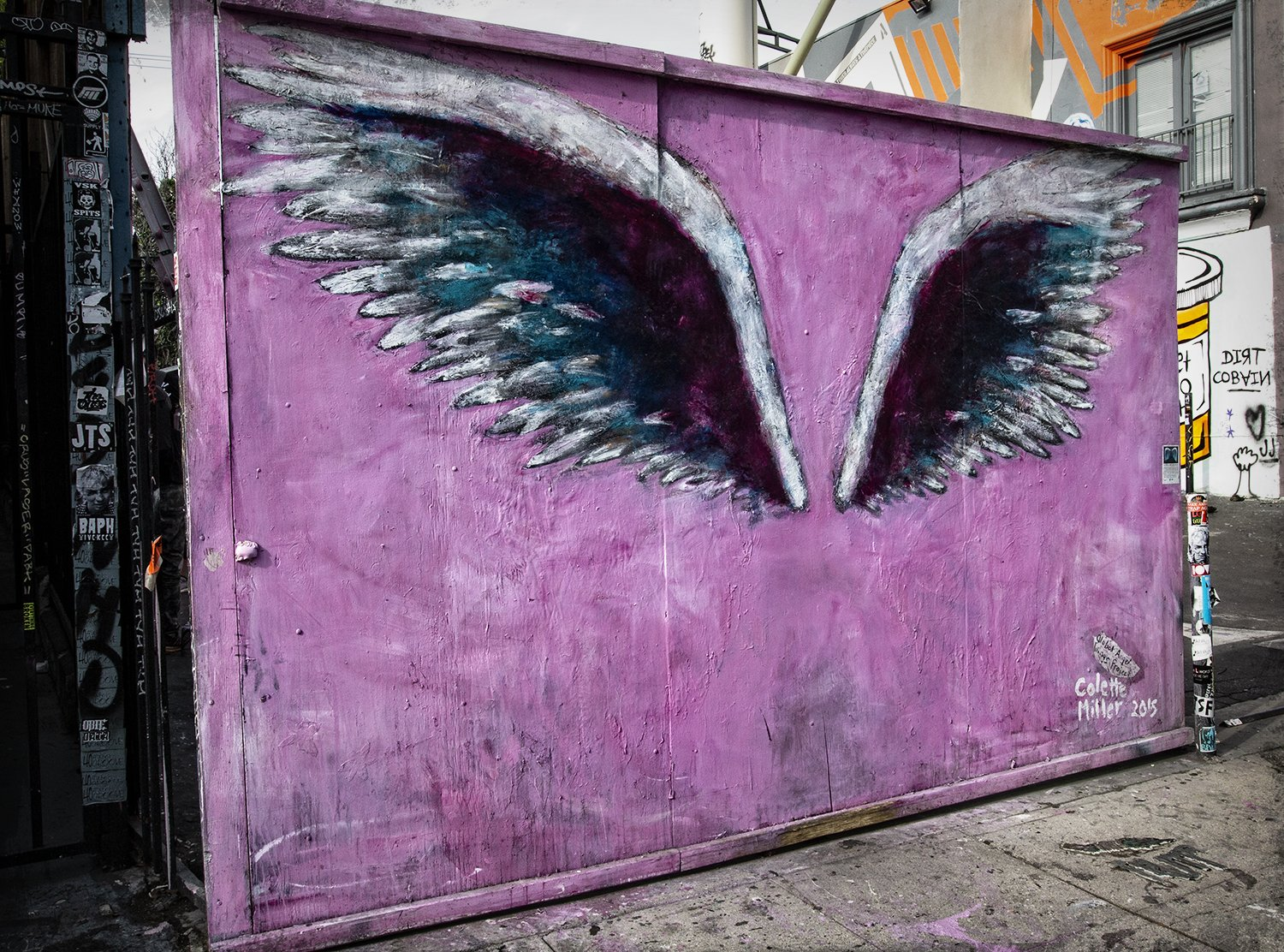 angel wings, graffiti, street art, paint, spray paint