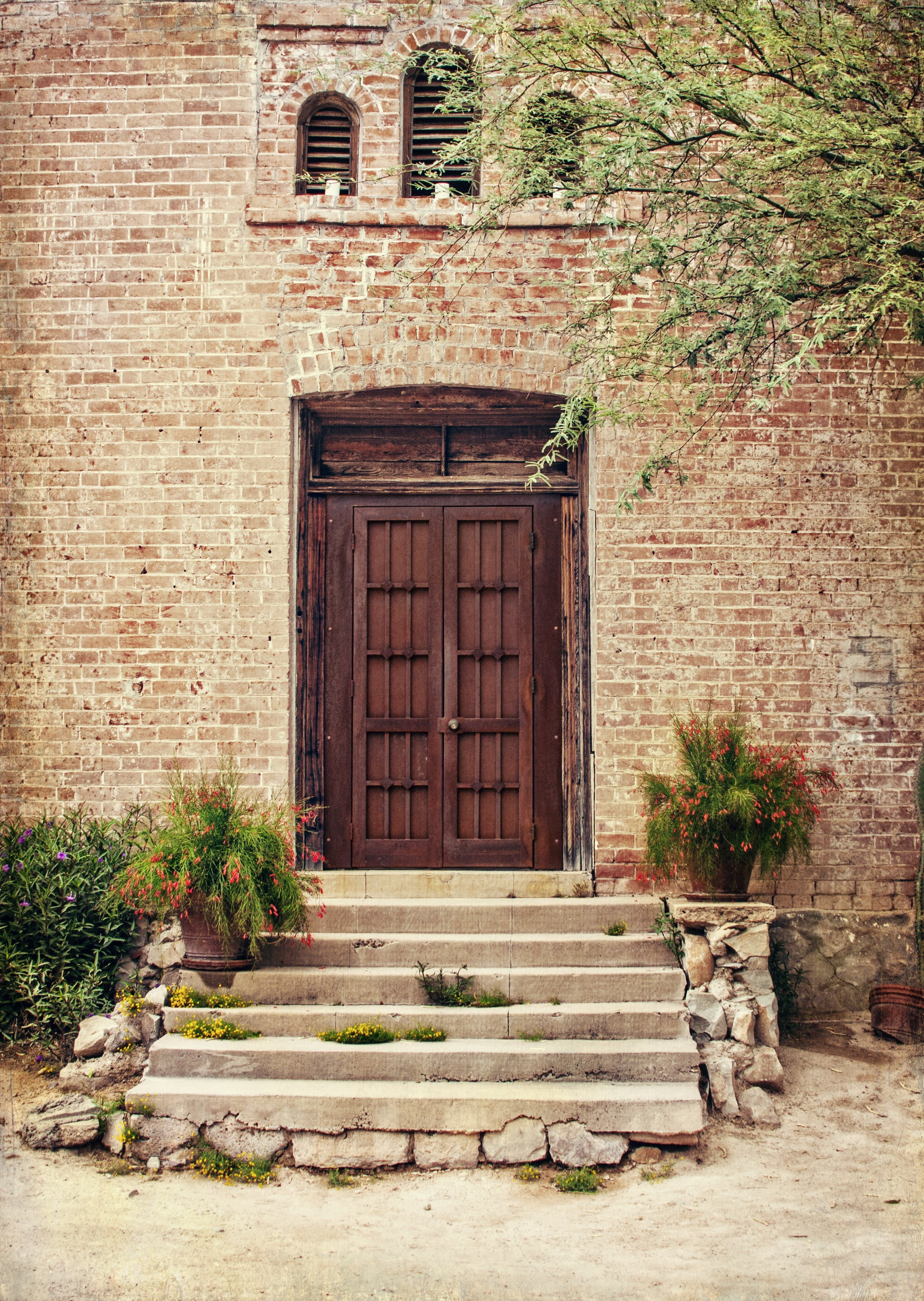 doors, Tucson, barrio, architecture, welcome, entry way